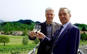Aldo Franchi (direttore) e Antonio Gatto (presidente), Cantina Produttori Valdobbiadene