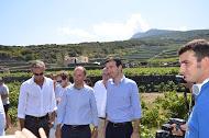Antonio Rallo, Maurizio Martina e assessore Reale