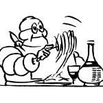 Omino Michelin anni Sessanta