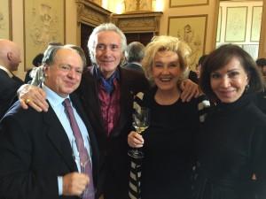 Enzo Vizzari, Giorgio Pinchiorri, Elisabetta Bastianello , Fiammetta Fadda