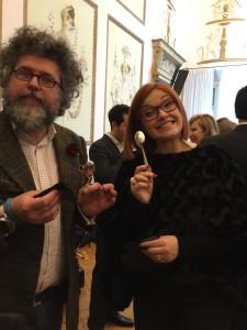 Andrea Grignaffini e Eleonora Cozzella