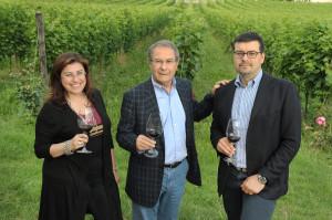 Alessandra, Sandro e Raffaele Boscaini Masi Agricola