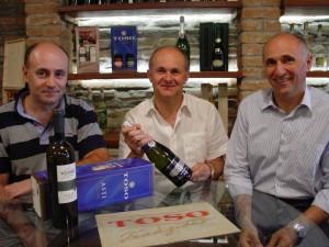 Da sin. Massimo, Gianfranco e Piero Toso_2