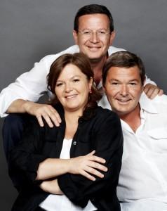 Cristina, Arturo e Paolo Ziliani, Guido Berlucchi