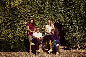 Cosimo, Maria Teresa Varvaglione con le figlie