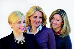 Enrica, Dominga e Marta Cotarella