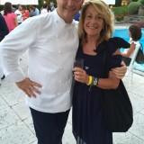 Con il padrone di casa Chicco Cerea @davittorio
