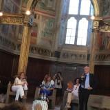 «Esempio di buona politica» per Antonio Paolucci ,  direttore dei Musei Vaticani, il ritorno della Pala dell'Assunta a Montefalco