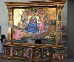 La meravigliosa Pala della Madonna con la Cintola  in mostra a Montefalco fino al 30 dicembre 2015