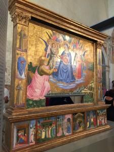 La Madonna della cintola di Benozzo Gozzoli fu donata nel 1848 al papa Pio IX da Montefalco   per ringraziarlo del titolo di città