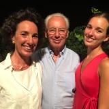 La famiglia Rallo, proprietaria di Donnafugata: Giacomo Rallo con la figlia Josè e la nipote Gabriella