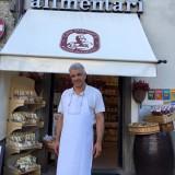 Casa Porciatti, e il suo patron Luciano Porciatti, da 50 anni meta gastronomica doc