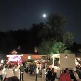 E la luna suggella una serata magnifica #davittorio #artistidellostreetfood