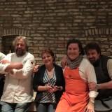 Grandi chef! Davide Di Corato@cristiana sparvoli Carlos Veloso Dos Santos Bruno Petronilli