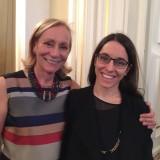 Orgoglio di mamma: Marilisa Allegrini,  con la figlia Caterina neo laureata in filosofia