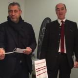 Attenti a quei due! Helmuth Kocher con il socio  Andrea Vanni è pronto a replicare a Siena il successo  del Merano wine Festival: fissata il 30-31 gennaio 2016 la prima edizione di Siena&Wine