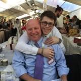 Dolce al quadrato: Dario Loison, celebre  pasticcere veneto, con il figlio Edoardo  per la prima volta in campo