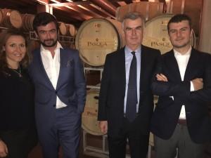 Cecilia Pasqua, Riccardo Pasqua AD, Umberto Pasqua Presidente, Alessandro Pasqua