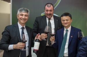 Fabio Maccari dg Mezzacorona, Luca Rigotti presidente,  jack Ma patron di alibaba