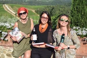 Tania Mauri, Luciana Squadrilli e Alessandra Farinelli