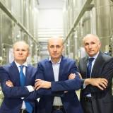 Toso da sx Pietro, Massimo e GianfrancoToso