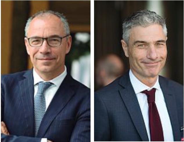 Iwb Da sinistra, Simone Strocchi, vice presidente, e Alessandro Mutinelli, ceo